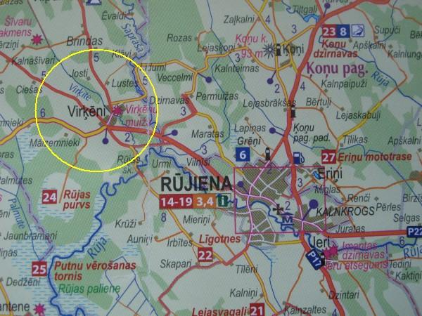 Karte Rujiena-web